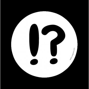 Výkričník - otáznik