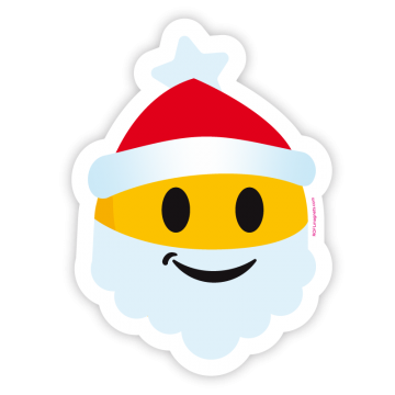 Bearded Santa Emoji