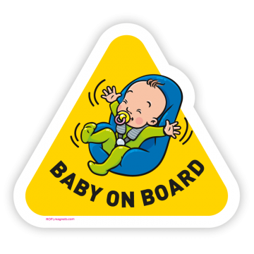 Baby on Board - sedadlo