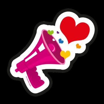 Love - megafón