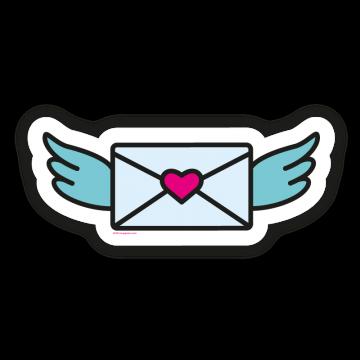 Zaľúbený list