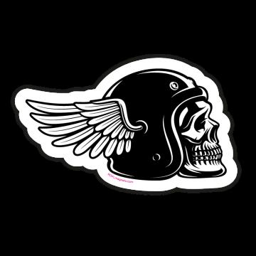 Motorkárska lebka