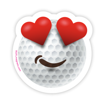 Golf LOVE Emoji