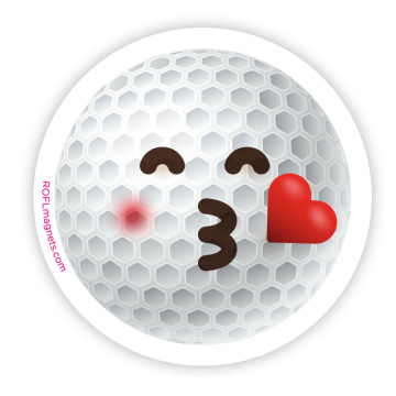 Golf KISS Emoji