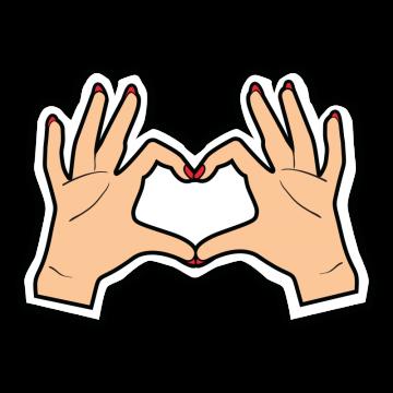 ruky srdce