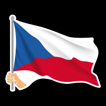 Vlajka CZ