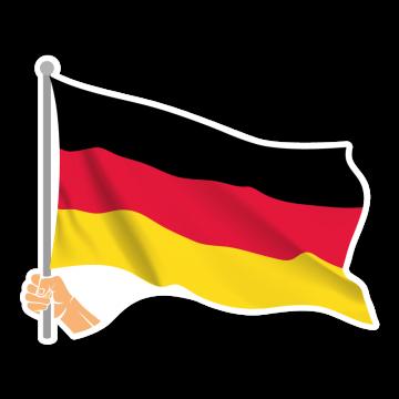Vlajka DE