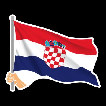 Vlajka HR