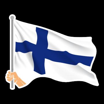 Vlajka FIN