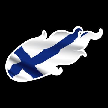 Ohnivá vlajka FIN