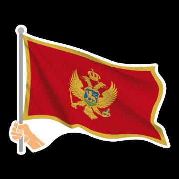 Vlajka MNE