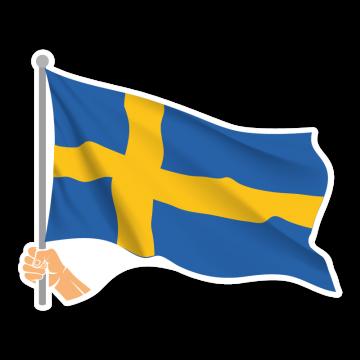 Vlajka SWE