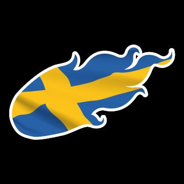 Ohnivá vlajka SWE