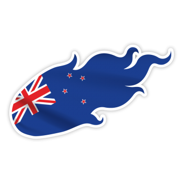 Ohnivá vlajka NZ