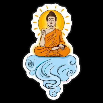 Budha na oblaku